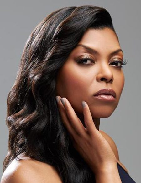 Actress Taraji P. Henson for MAC