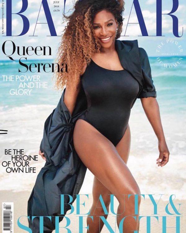 Photo: Serena Williams, Harpers Bazaar