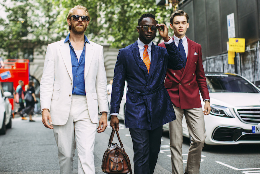 Men S Suits 2018 Street Style Inspiration The Kol Social