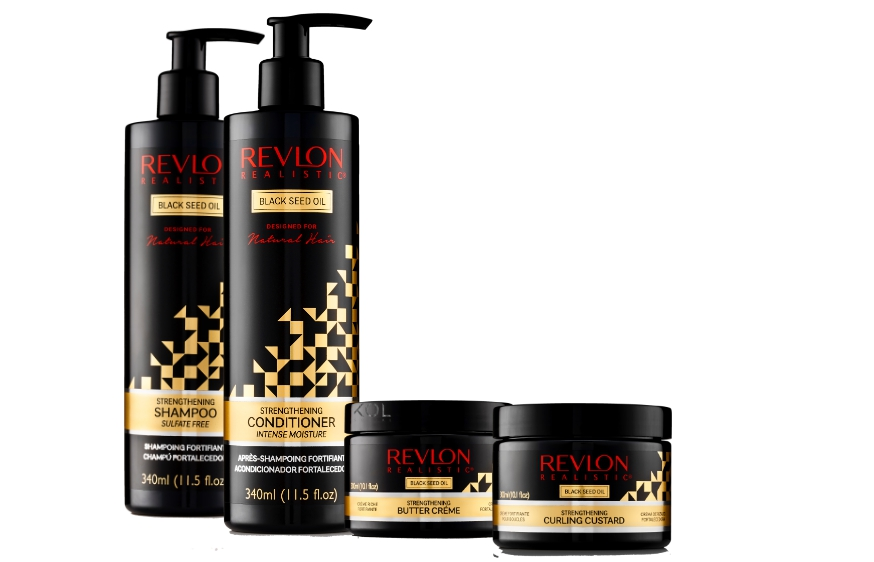 REVLON REALISTIC AND BLACK SEED OIL HAIRCARE