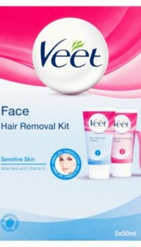 Veet Face Hair Removal Kit Sensitive Skin