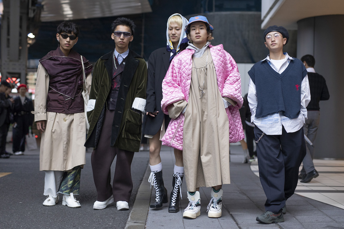 Street StyleTokyo Fashion Week SS19 Men
