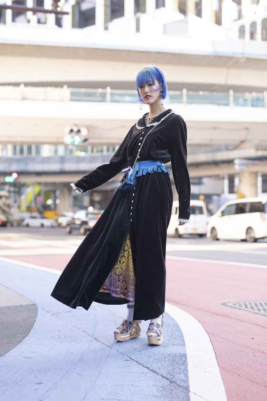 Street Style Tokyo Fashion Week SS19 Women