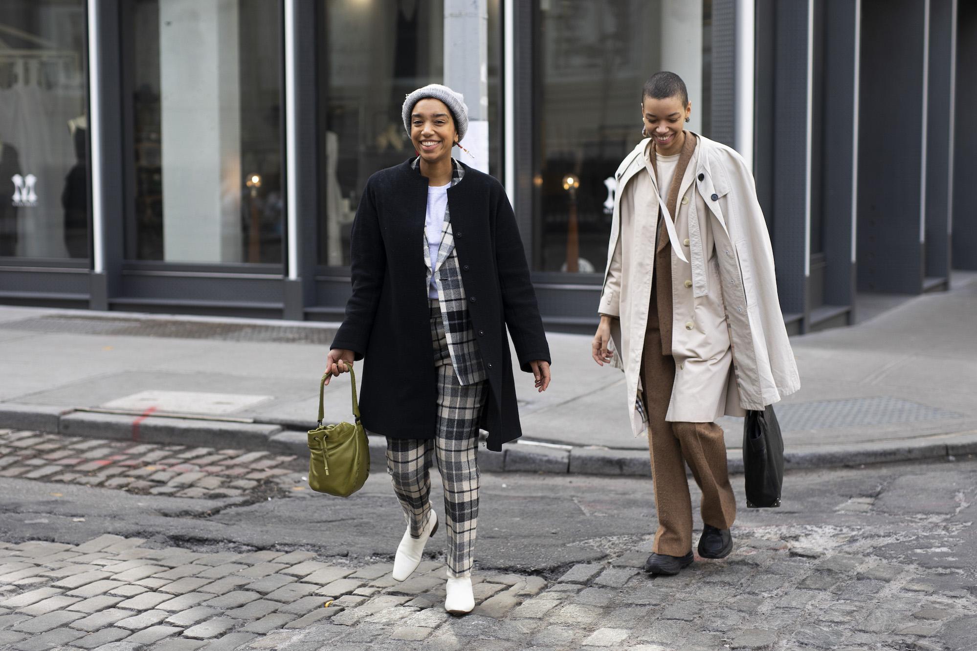 Street Style New York Fashion Week AW20 | Women