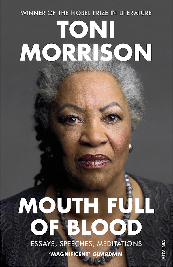 Win Toni Morrison's book Mouth Full Of Blood