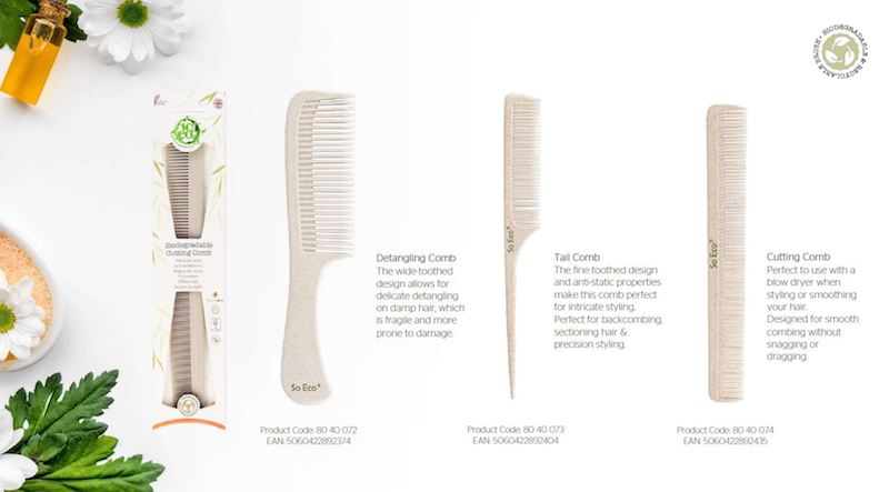 Win So Eco Biodegradable Combs