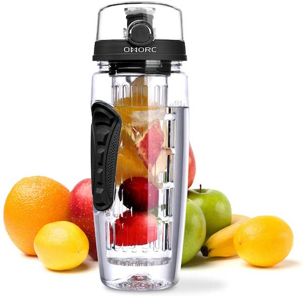 OMORC Fruit Infuser Water Bottle,